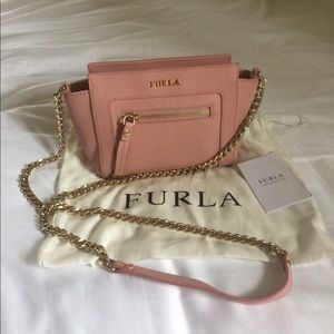 Bag Furla, model Ginevra Mini Leather Crossbody